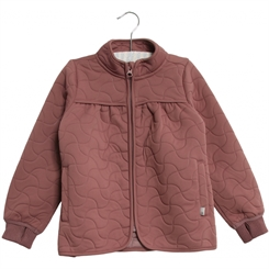 Wheat Thermo Jacket Thilde (Plum)