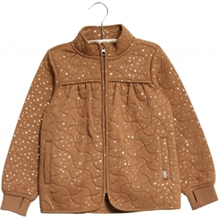 Wheat Thermo Jacket Thilde - Caramel Dot