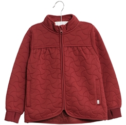 Wheat Thermo Jacket Thilde - Burgundy