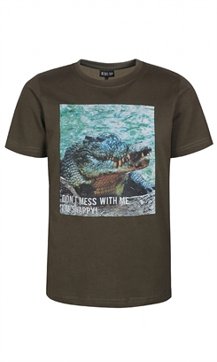 "Kids-up T-shirt - Army way - krokodille ""Snappy"""