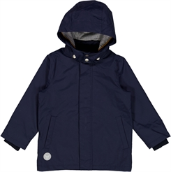 Wheat Addo Tech jacket - Deep sea