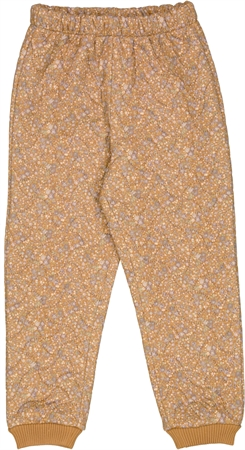 Wheat Thermo Pants Alex - Golden flowers