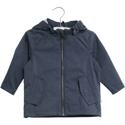 Wheat Windbreaker Folke - navy-melange