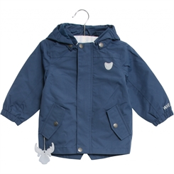 Wheat Valter jacket - Indigo blue
