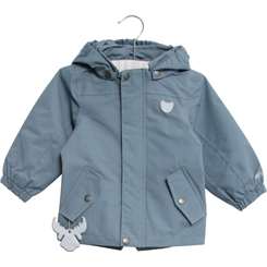 Wheat Valter jacket - Blue mirage
