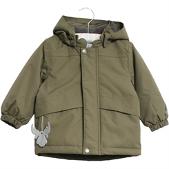 Wheat Shane jacket - Army leaf