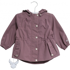 Wheat jacket Cornelia - dark lavender