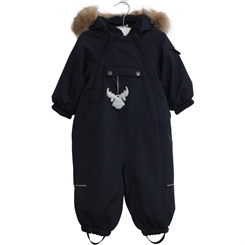 Wheat snowsuit Nickie - navy