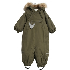 Wheat snowsuit Nickie - Army leaf