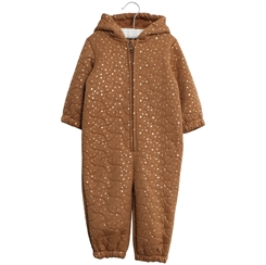 Wheat thermosuit - Caramel Dot