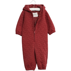 Wheat thermosuit - Burgundy