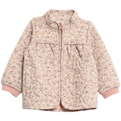 Wheat Thermo Jacket Thilde - Eggshell flowers