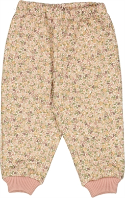 Wheat Thermo Pants Alex - Eggshell flowers