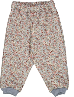 Wheat Thermo Pants Alex - Dusty dove flowers