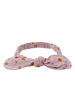 Soft Gallery Bow Hairband, Down pink - AOP Buttercup