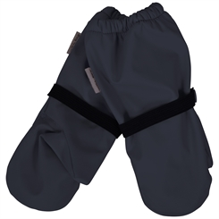 Mikk-line PU rain Mittens w/fleece - Blue Nights