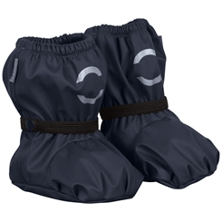 Mikk-line PU rain Footies w/fleece - Blue Nights