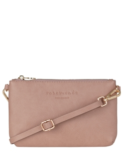 Rosemunde clutch - deep Rosé gold