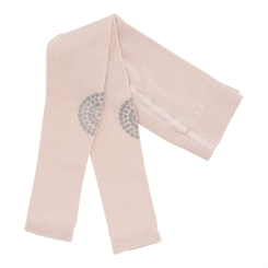 GoBabyGo Leggings (Soft pink glitter)
