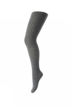 MP TIGHTS COTTON RIB (Dark Grey)