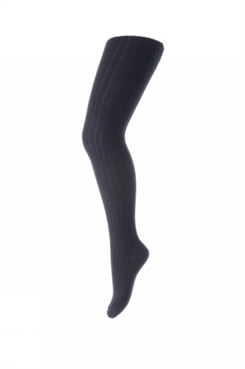 MP TIGHTS COTTON RIB (Dark Navy)