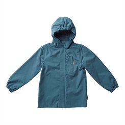 By Lindgren - Little Birk Rain Jacket - Petroleum