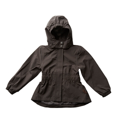 By Lindgren - Little Rigmor rain jacket - Elephant grey