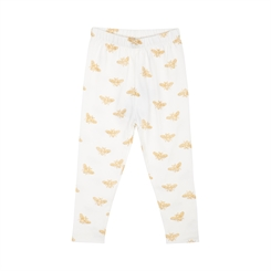 Sofie Schnoor leggings Lily - Off white/gold