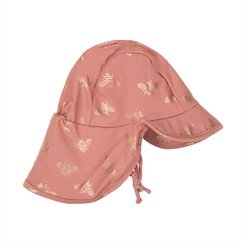 Sofie Schnoor UV Swim hat Sisi - Dusty rose