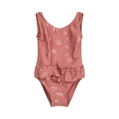 Sofie Schnoor UV Swim suit Millie - Dusty rose
