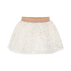 Sofie Schnoor skirt Elvira - Off white/gold