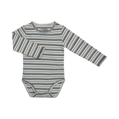 Sofie Schnoor August body - Off-white/blue stripes