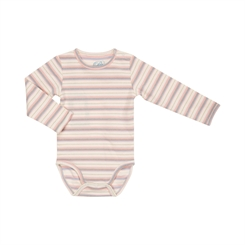 Sofie Schnoor Dicte body - Off-white/rose stripes