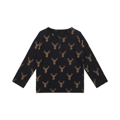 Sofie Schnoor T-shirt Atlas - Black animal