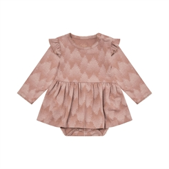 Sofie Schnoor dress Rita - Rosy brown
