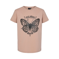 "Sofie Schnoor Felina t-shirt - Light rose ""Fly away with me"""