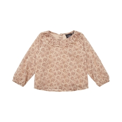 Sofie Schnoor Olivia blouse - Sand w/gold