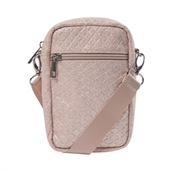 Sofie Schnoor Lora crossbag - Light rose glitter