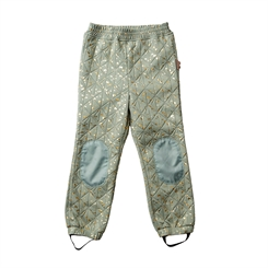 By Lindgren - Sigrid thermo pants - Mint Green w. gold