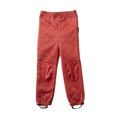 By Lindgren - Sigrid thermo pants - Ruby Red