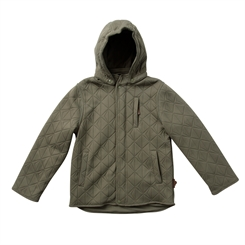 By Lindgren  - Thor thermo jacket m fleece - Dusty olive