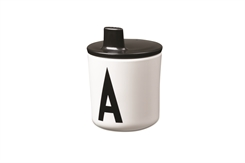 Design Letters ABC Kop Drink Lid (Black)