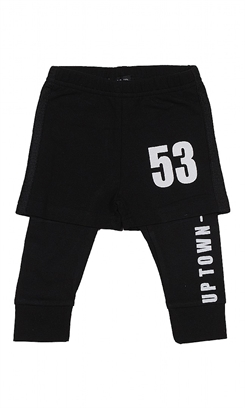 Kids Up Rakki Pants + Shorts (Black)