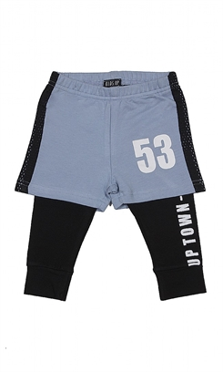 Kids Up Rakki Pants + Shorts (Air Force Blue)