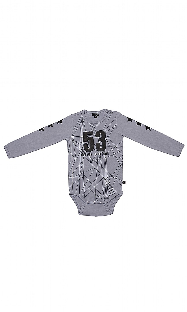 Kids Up Body LS (Air Force Blue)