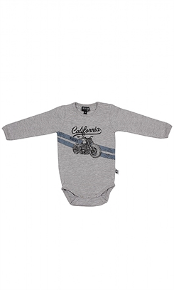 Kids Up Body LS California (Light Grey Melange)
