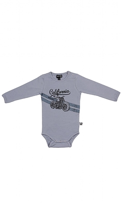 Kids Up Body LS California (Air Force Blue)